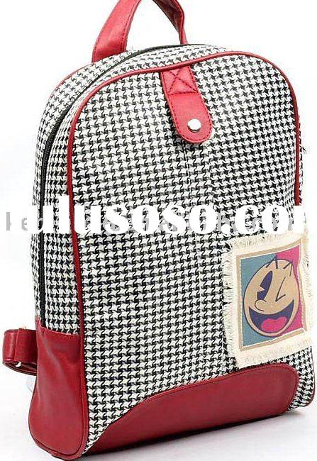 Ladies' fashion shoulder bag / backpack / canvas bag