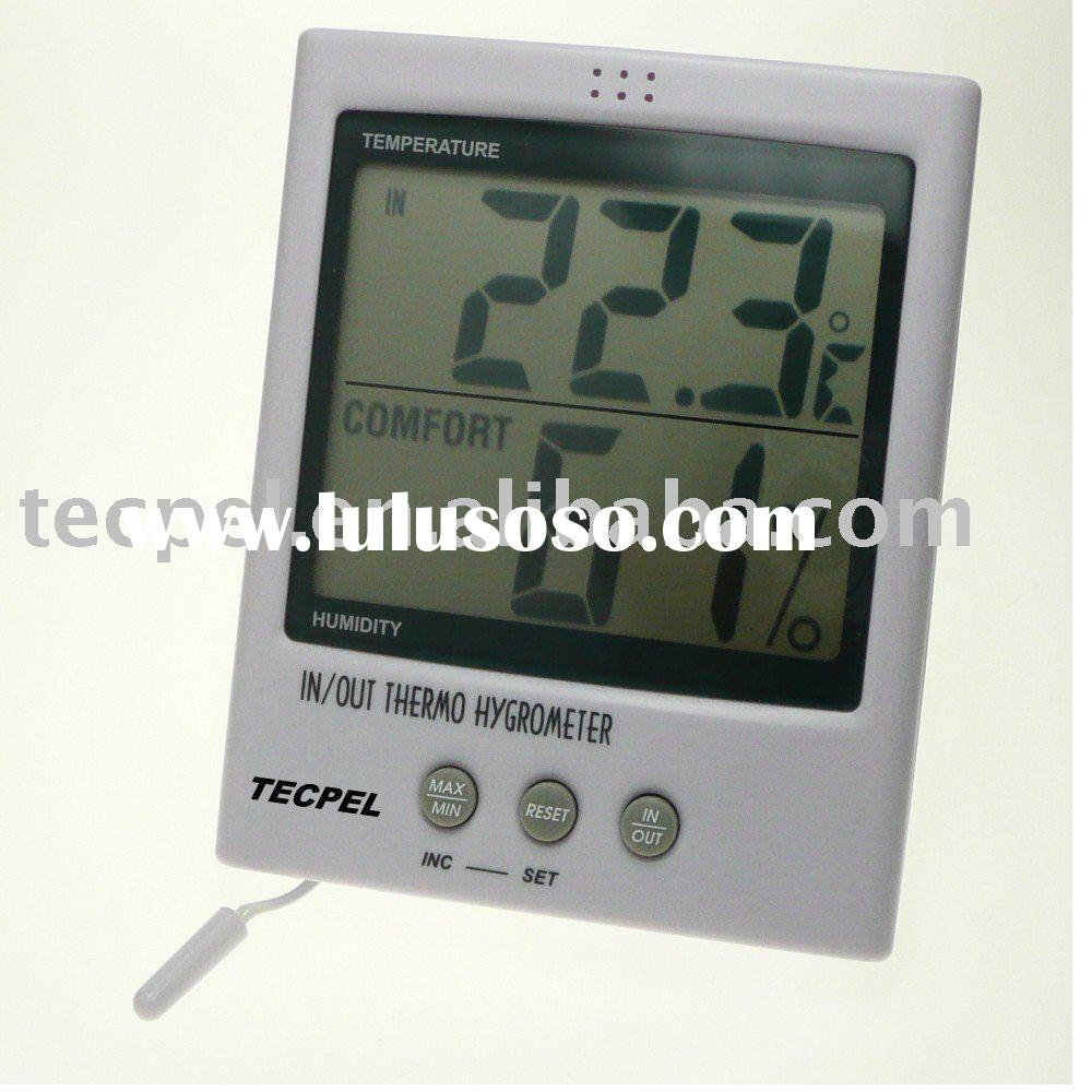 Large Display Thermo Hygrometer, Hygro Thermometer, Temperature Humidity Meter ( DTM-303)