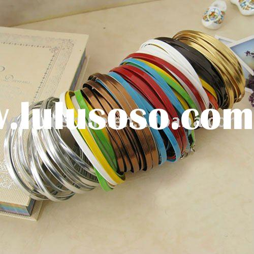 Leather bracelet bangle for men and women