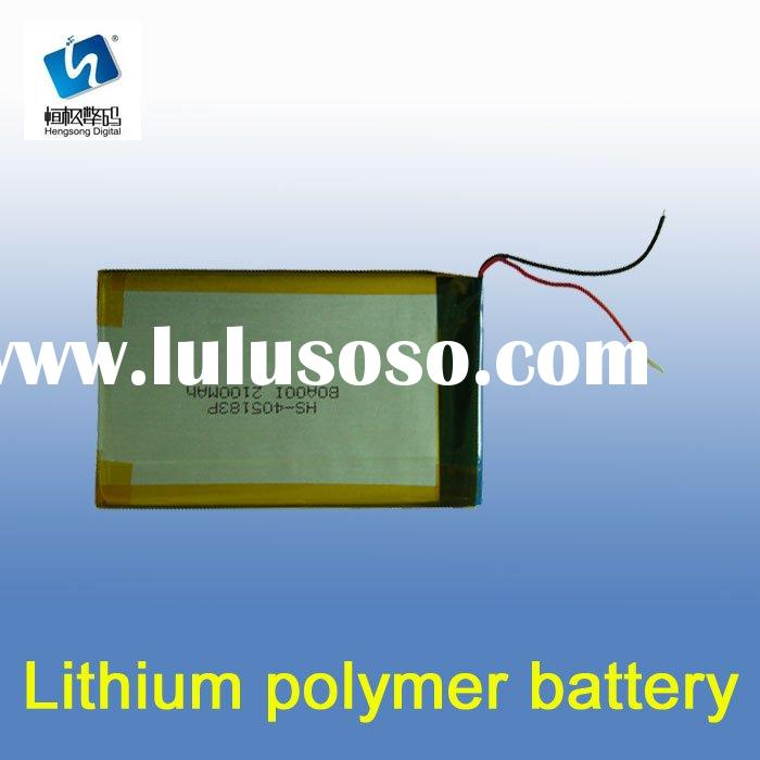 Li-ion Polymer Battery Pack with 3,500mAh and High Energy Density