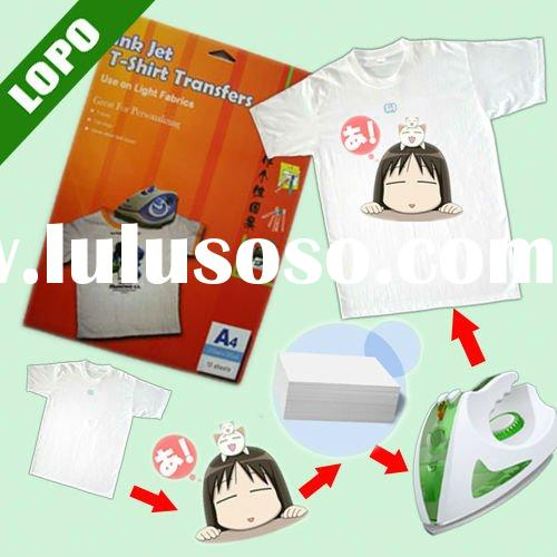 Light Inkjet Transfer Paper(special for electric iron use only)
