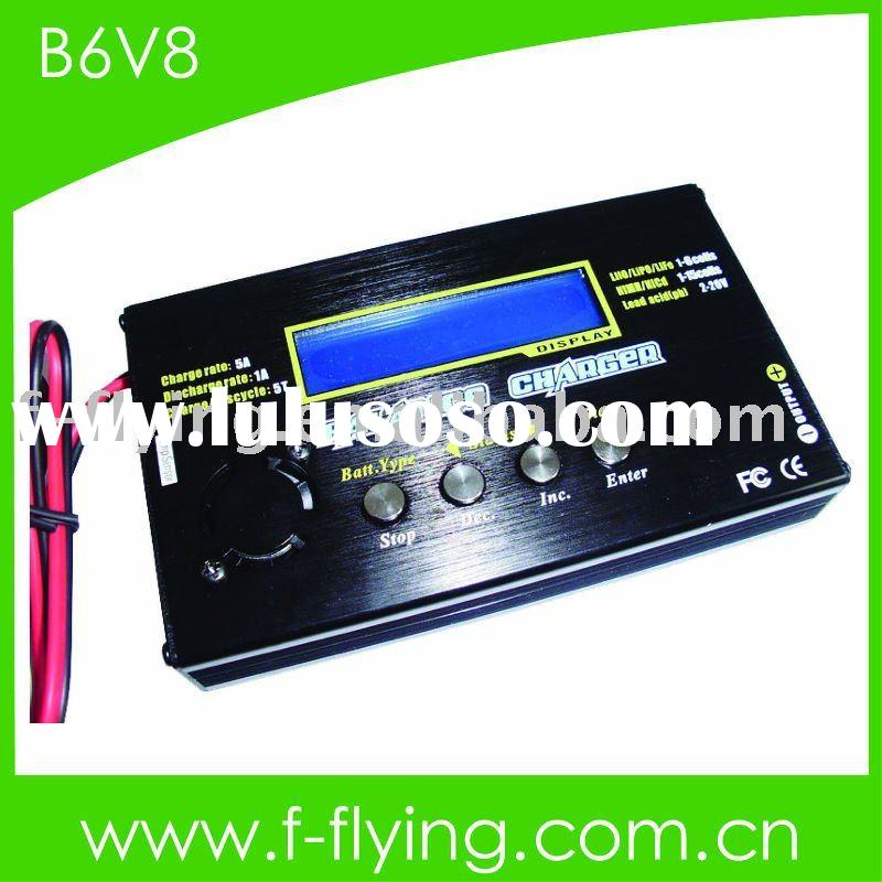 Lithium balance charger/discharger, battery charger (Built-in Balancer, Temperature sensor, USB port