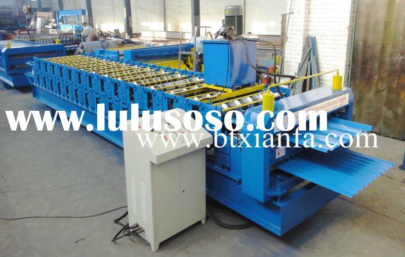 Low Cost Trapezoidal/Corrugated Panel Roll Forming Machine