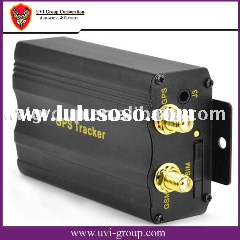 Low cost Car GPS Tracker & Alarm System with Web based and PC based software