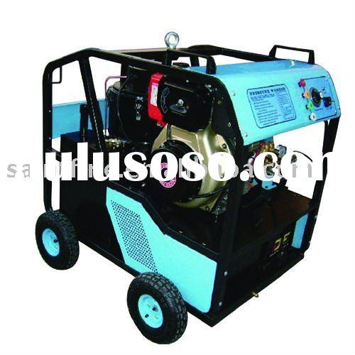 MOBILE DIESEL COLD and HOT WATER PRESSURE WASHER 200Bar