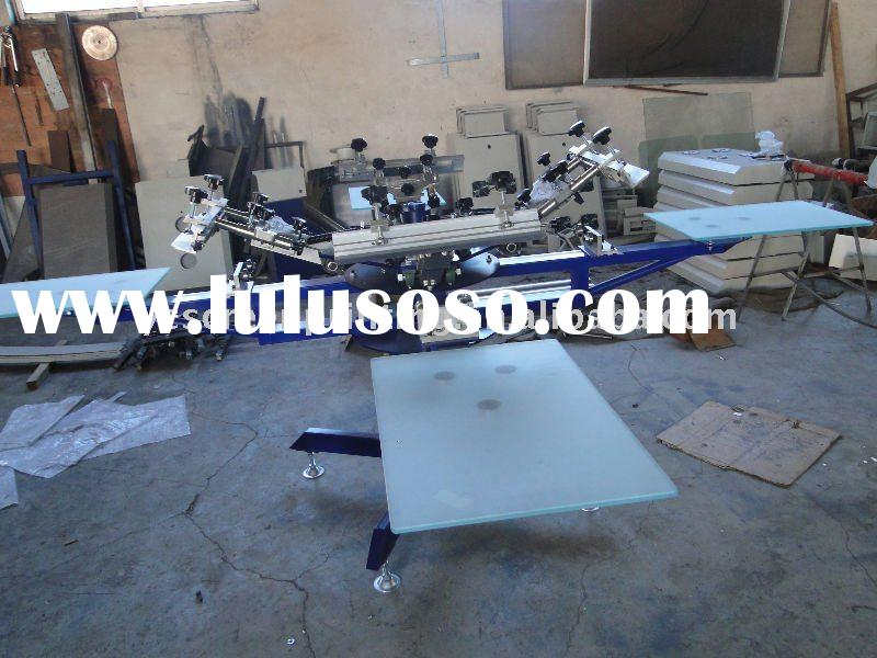 Manual Textile Screen Printing Machine/Carousel