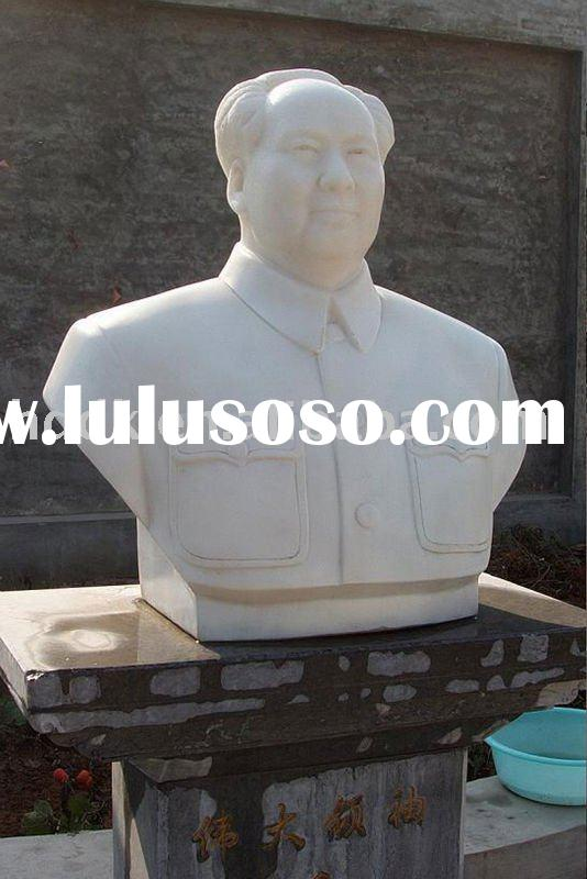 Mao Zedong marble stone sculpture & figure stone carved statue