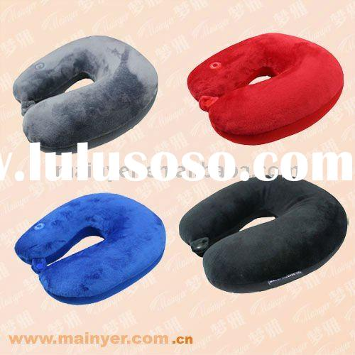 Massage Travel Neck Pillow; Vibrating Massage Pillow