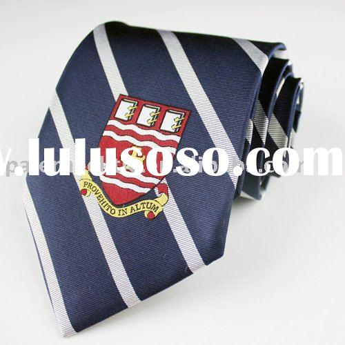 Men's Silk Logo Necktie
