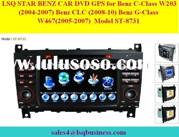 Mercedes Benz C-Class W203/ G-Class W467 Car DVD with GPS Navi, model ST-8731