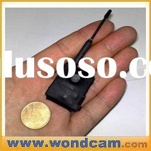 Micro 2.4ghz Wireless Camera - Transmitter Video Throught 3 Walls with Receiver Screen