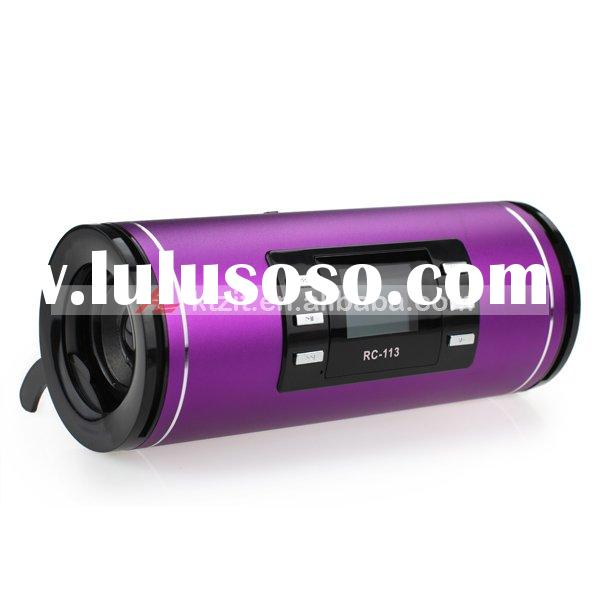 Mini Portable USB Rechargable MP3 Player Speaker With FM radio And Lyrics Display