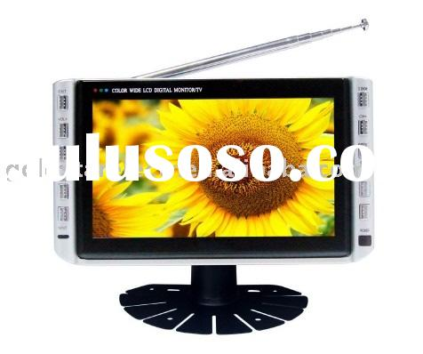 Mini color dashboard lcd tv monitor,with usb and SD card slot