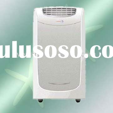 Mobile & movable air conditioner with heat pump