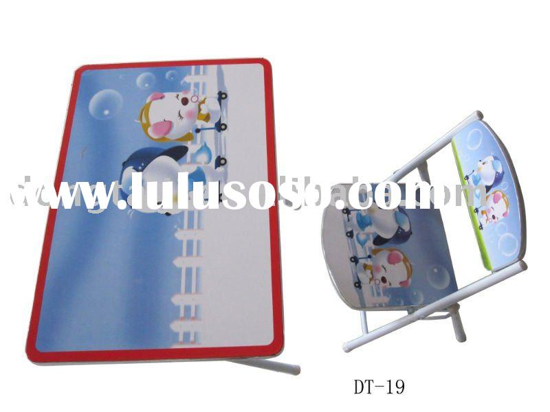 Modern Kids Cartoon Folding Table and Chair Set