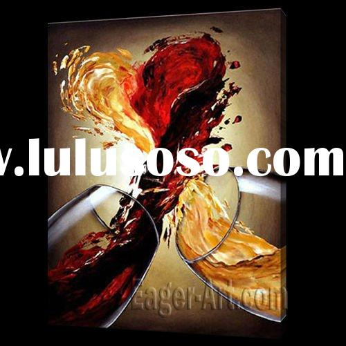 Modern stretched still life oil painting (Direct Buy)