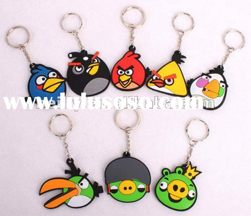 Most promotional high quality 100% eco-friendly silicone key chain