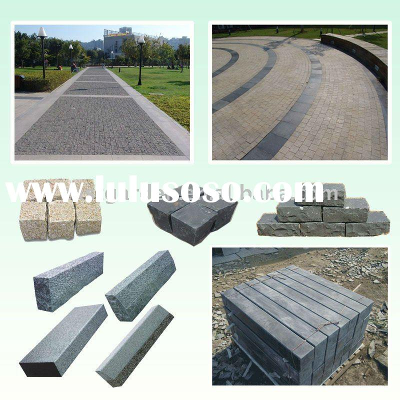 Natural Granite and Basalt Paving stone