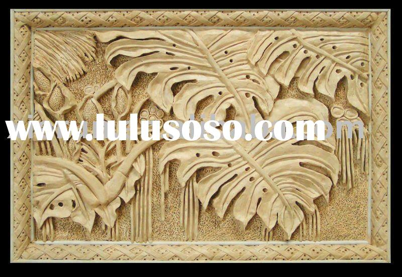 Natural style artificial sandstone art relief/carving/sculpture