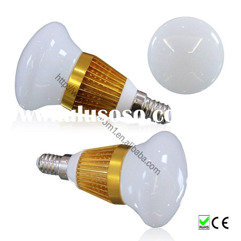 New Arrival 3w r80 e14 lamp E27 high power led bulb