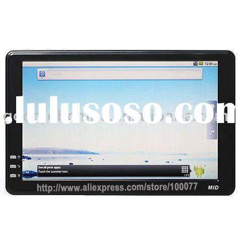 New China 7inch Android 2.2 Operating System Build-in GPS and 1080P 3G Adapter Bluetooth android tab