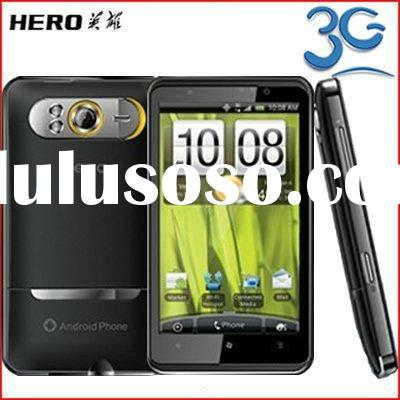"New HD7 H7300 3G WCDMA Google Android 2.3 Smart Phone Unlocked 4.3"" Touch Screen GSM Dual SIM G"