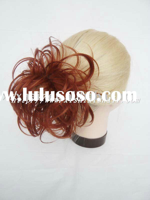 New Red color Fashion Synthetic hair pieces with paypal