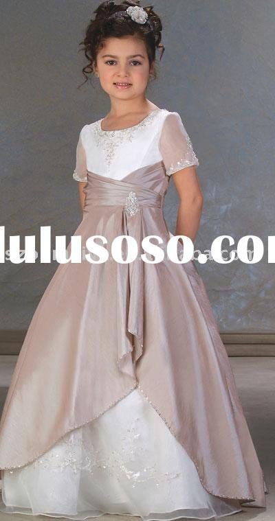 New Style Fashionable Beautiful Flower Girl Dress FD2059