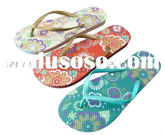 New design fashion style Rubber Slippers flip flops