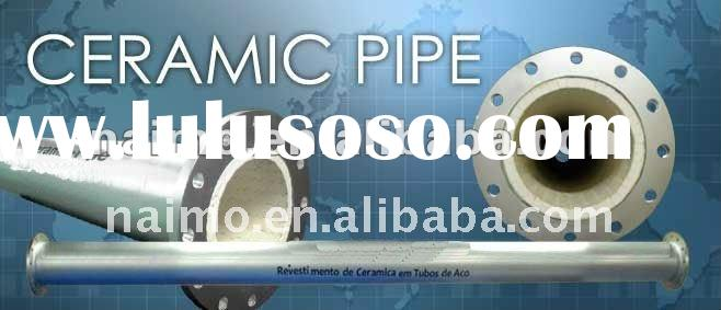 Newly High Wear Resistant Ceramic lined Steel Pipe