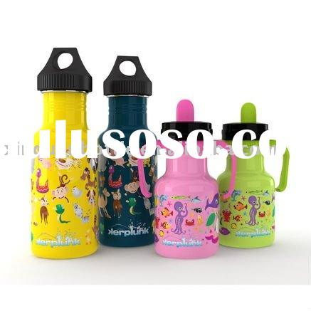Non-toxic stainless steel sippy cups, baby bottles, water bottles stainless steel 304,bpa free