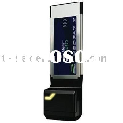 Novatel Merlin XU870 7.2Mbps HSDPA Wireless Network Card, wireless card modem, wireless card.