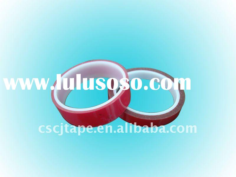 PET tape /red tape/High temperature resistant/Silicone adhesives/Polyester film adhesive tape