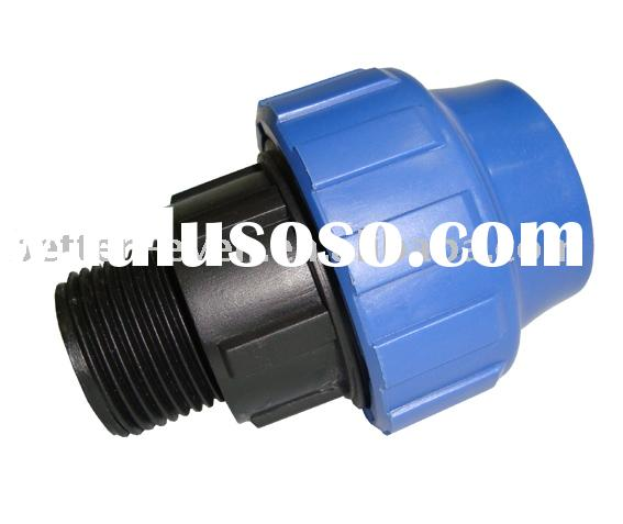 Water line compression fittings