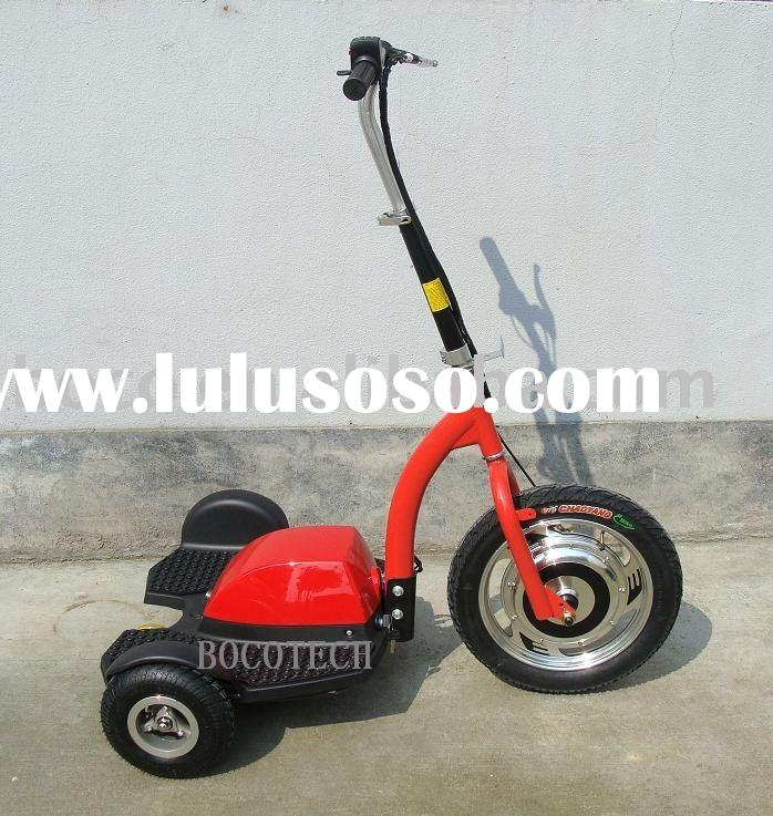 PTV,3 wheel mobility scooter,electric tricycle,handicapped scooter ES-064 Red