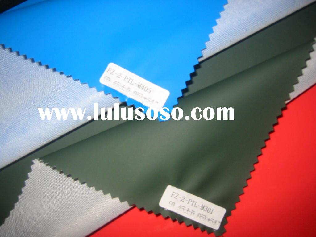 PU/PVC coated polyester waterproof fabric