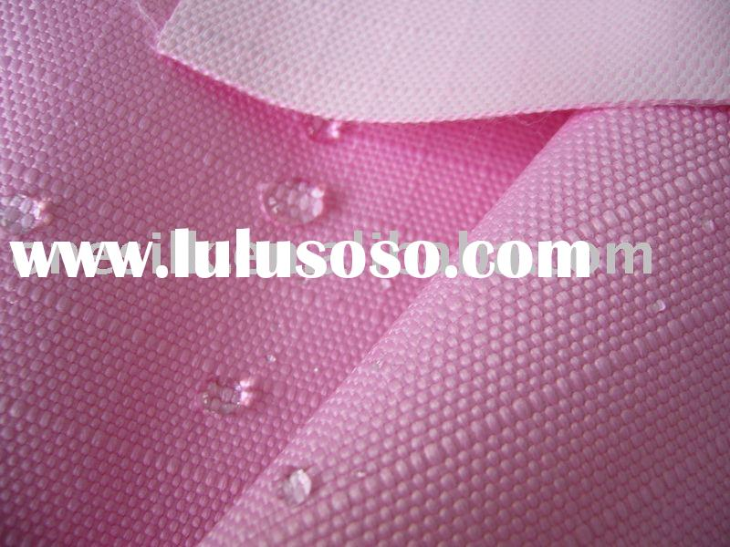 PU coated/breathable polyester ripstop oxford fabric for horse wear