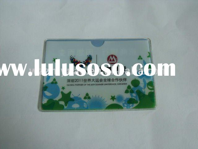 PVC Protector for Bank Card, Credit Card or Membership Card
