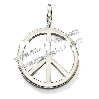 Peace Charm Sterling Silver Pendant 2011 latest