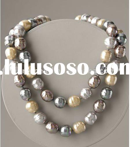 Perfect fashion design pearl bead necklace jewelry