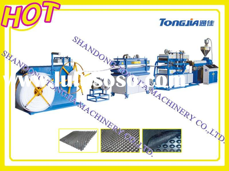 Plastic honeycomb panel production line
