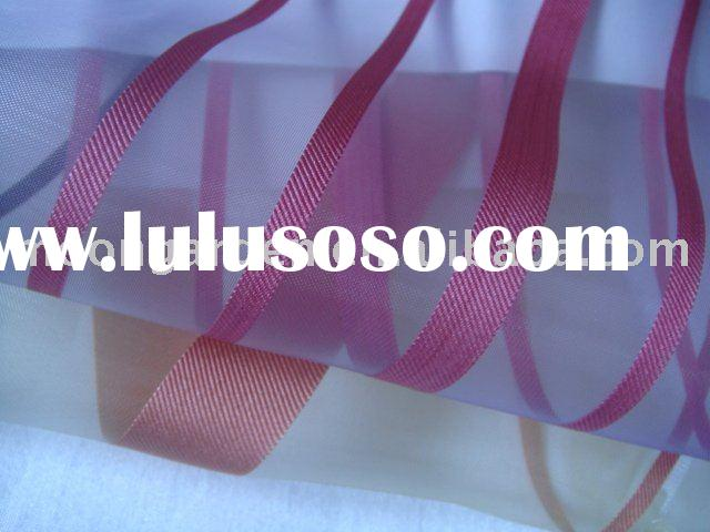 Polyester Yarn Dyed Upholstery Home Textile,Window Curtain Fabric From HangZhou,China