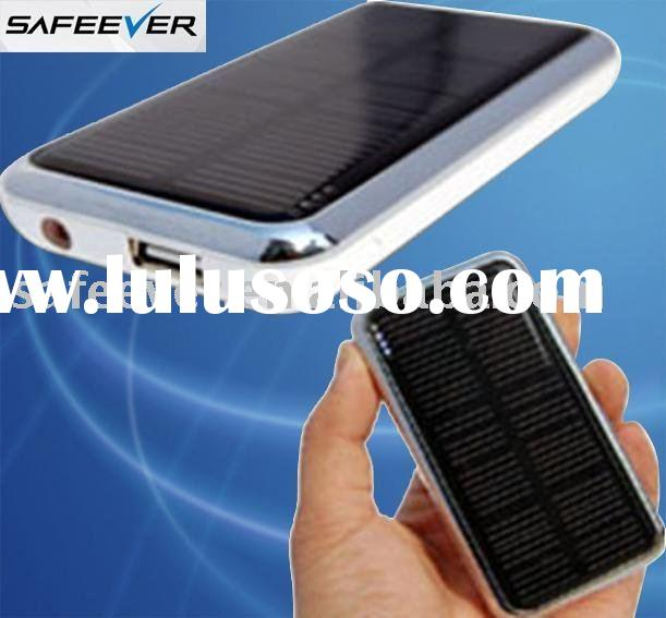 Portable Solar Battery Charger for Mobiles(iPhone,Blackberry,Samsung,Sony,HTC,Moto,Nokia) and Digita