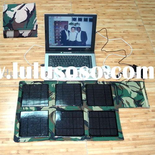 Portable solar power system with lighting function
