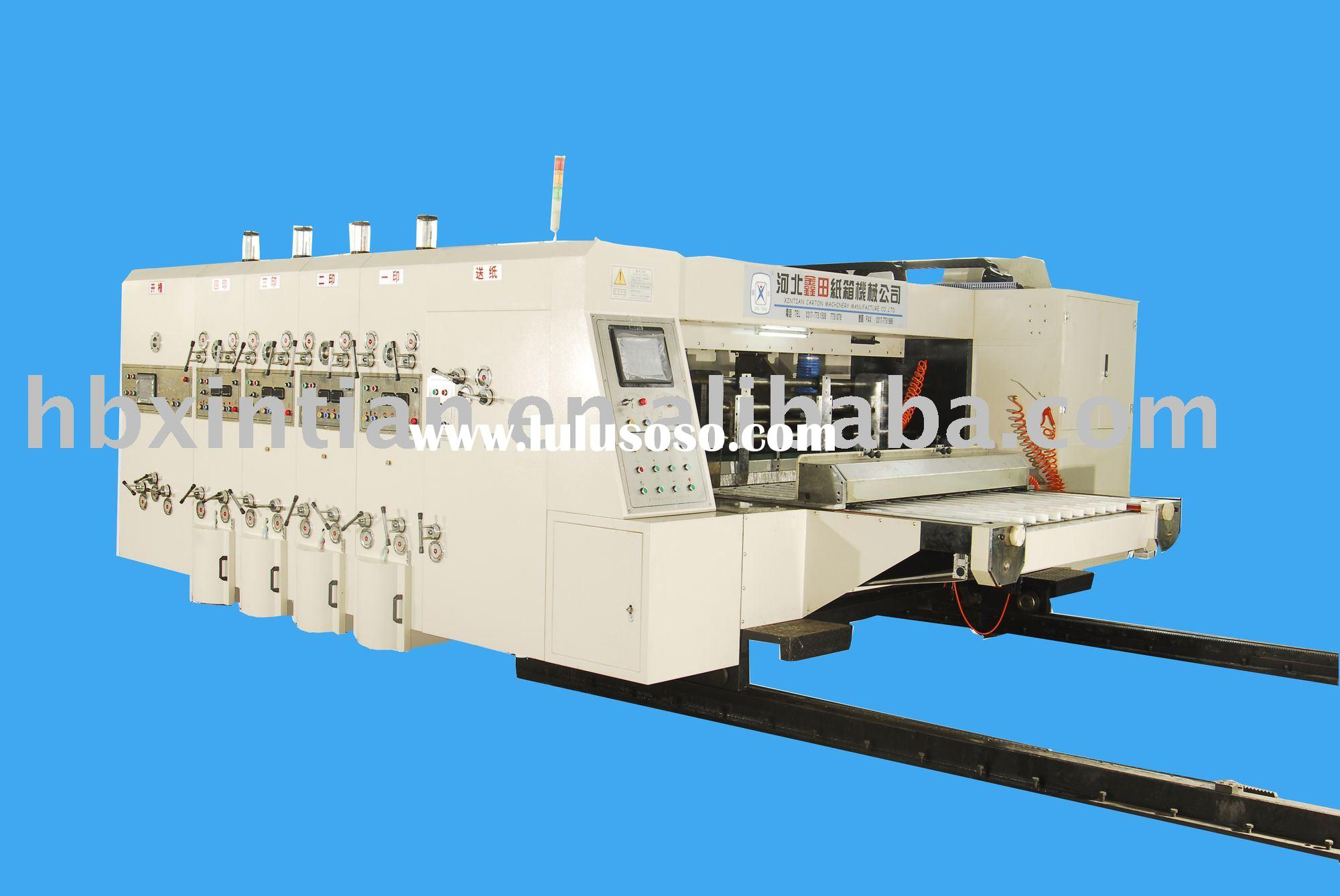 Printing Slotting Die-cutting packing machines/corrugated carton machines /printing machines/slottin