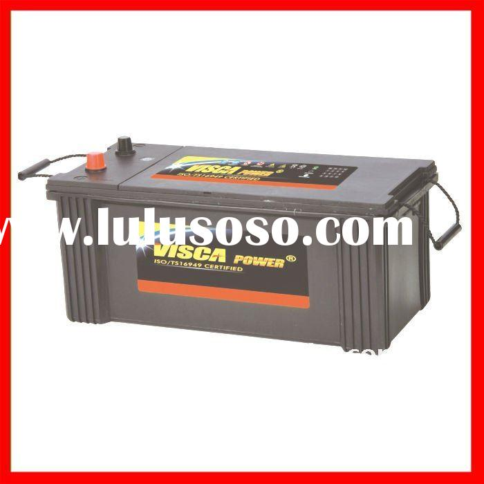 Producing High Quality DIN Standard 12V 60Ah Lead Acid Dry Charged battery for Car/Auto/Vehicle MF14