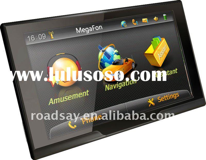 Programmable GSM/GPRS car GPS navigation,car tracker & taxi GPS dispatching system connected PND