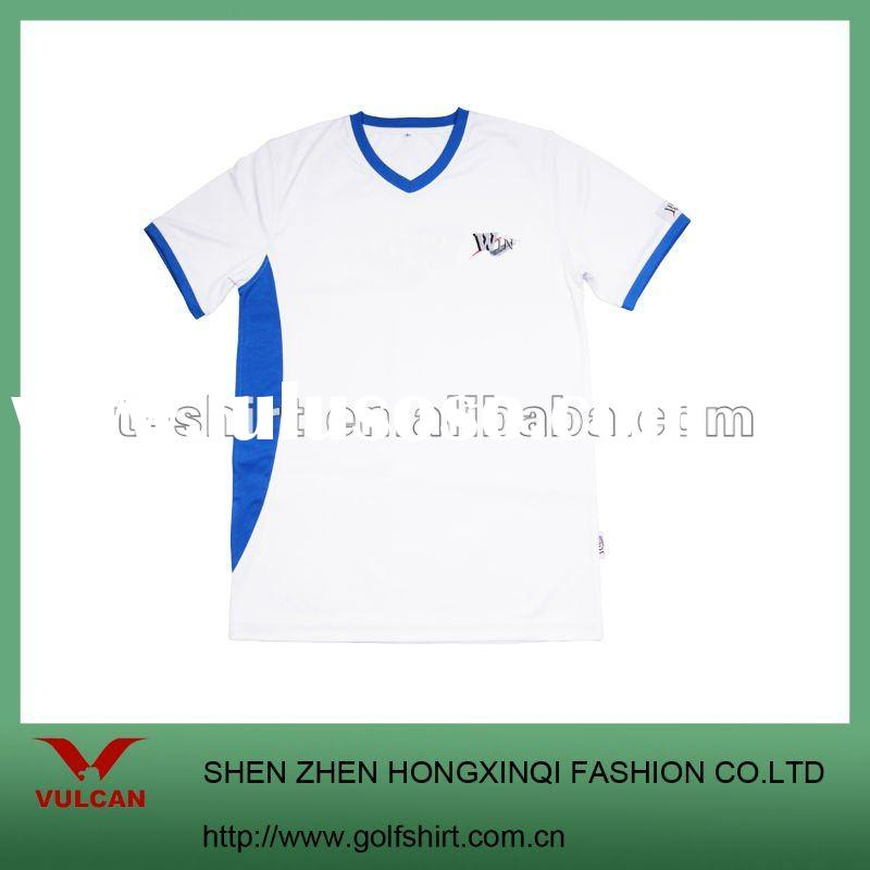 Promotion advertising t shirts with custom design and logo