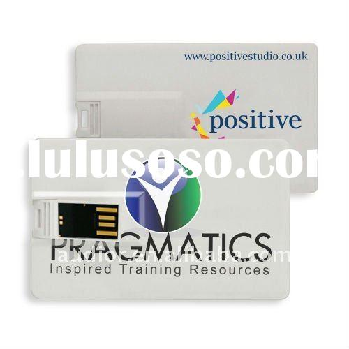 Promotional Gift 4GB Business Card USB Flash Drive