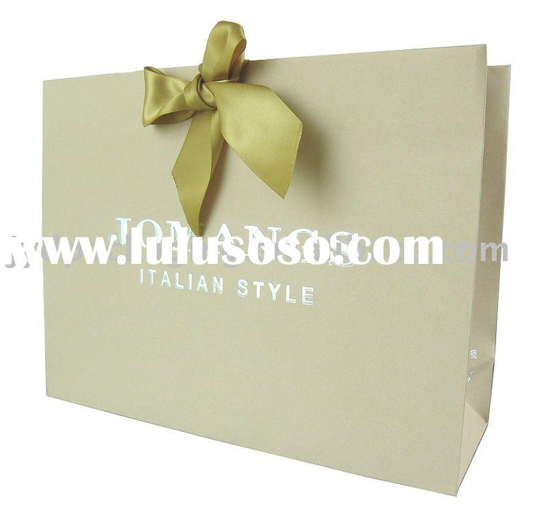 Promotional paper bag/Luxury Paper Shopping Bag